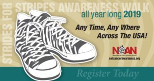 "4th Annual ""Stride For Stripes"" Awareness Walk"